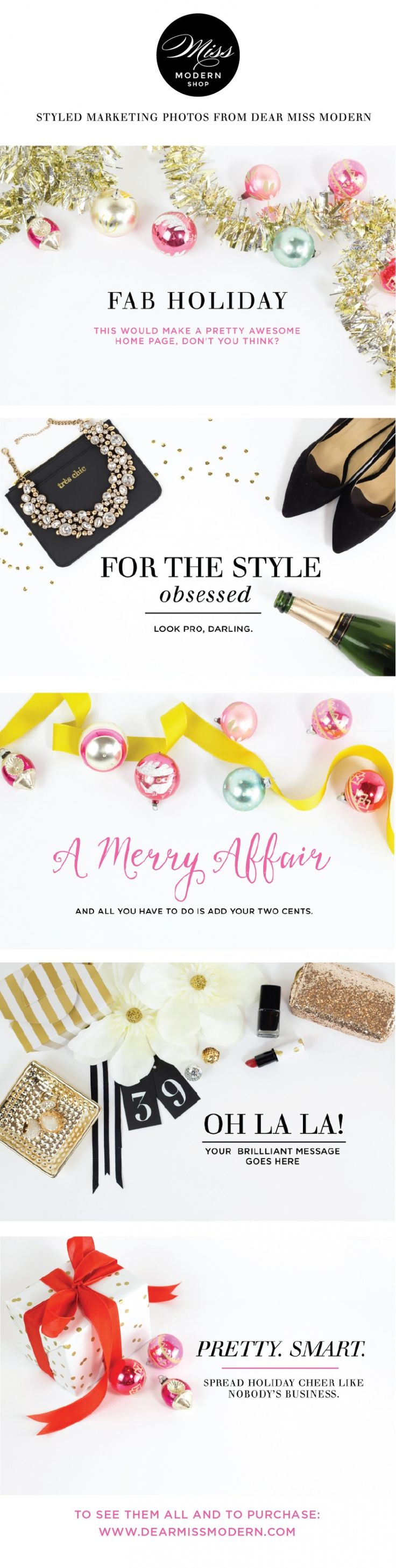 Miss Modern Styled Marketing Photos: available for instant download in the Miss…