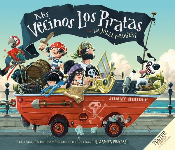 """""""Mis vecinos los piratas"""" - Jonny Duddle (Ediciones Fortuna)"""