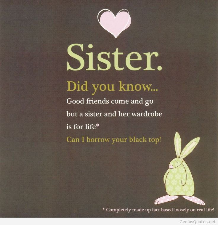 223 best Sisters images on Pinterest Sister sister, Dear sister - best wishes in life