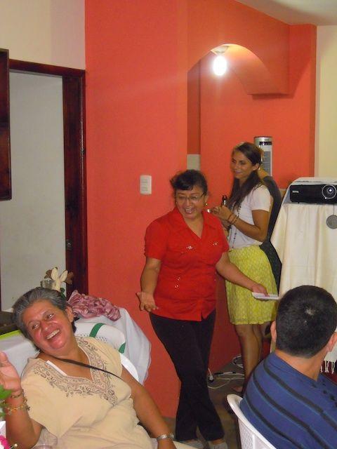 Senora Carlota au dîner, Guayaquil, 2014