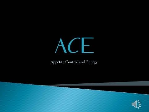 "ACE Appetite Control and Energy: About ACE -   What is this ""ACE Diet Pill"" that everyone is talking about? This video tells you about the ingredients within the product and how they affect you, as well as how to take ACE, where to buy it and some incredible transformation photos. Order ACE at http://ACEAppetiteControlEnergy.com"