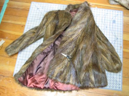How to properly reuse old fur coats.