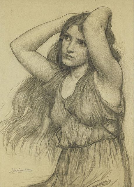 John William Waterhouse, flora