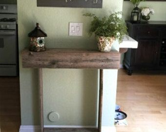 Skinny Console Table Small Entry Table. Country by TRUECONNECTION