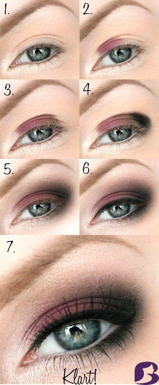 Die besten Eye Makeup Tutorials auf Pinterest: Sch…