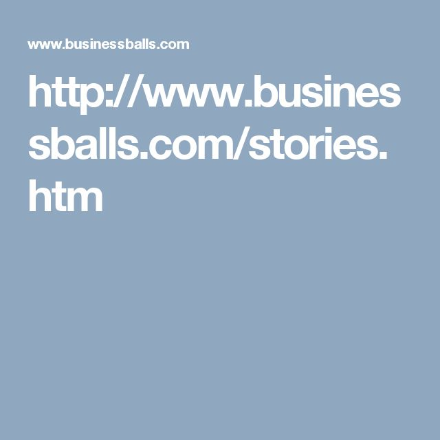 Stories from Businessballs