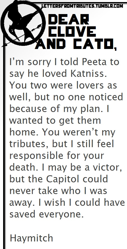 Letter from Suzanne Collins: A Thank You to The Hunger Games Film Team