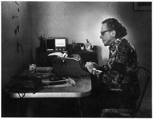 Charles #Bukowski, 1988.
