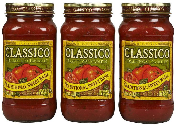 Walmart Classico Pasta Sauce 1.49 each WYB 4 Pasta