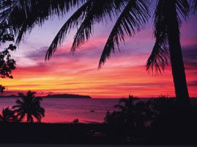 Sunset at Shoalpoint-a tropical dream  (photo courtesy of Qld Tourism)
