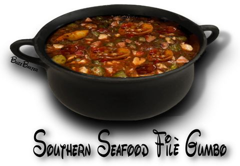 SOUTHERN SEAFOOD FILÈ GUMBO- http://www.thegutsygourmet.net/soul-gumbo.html. ☀CQ #southern #recipes