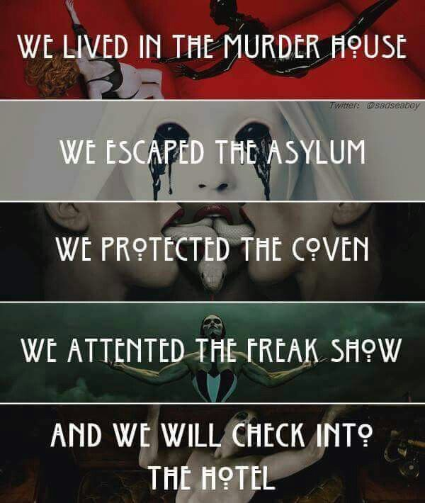 Ahs Quotes: 17 Best Images About American Horror Story On Pinterest