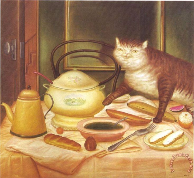 fernando botero Still Life with Green Soup Art Print for sale - CanvasPrintsHere.com