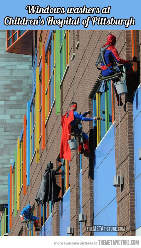 Pittsburgh Children's Hospital is doing it right…
