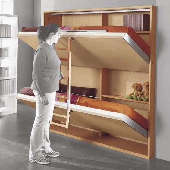 Pi di 25 fantastiche idee su armadio per cameretta dei for Soluzioni letto per ospiti