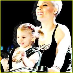 Pink And Carey Hart Daughter 2013