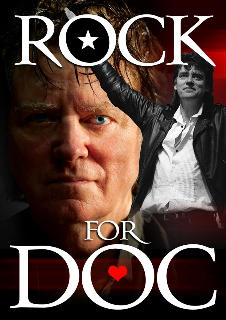 Rock for Doc.....Doc Neeson is now in remission from brain cancer..