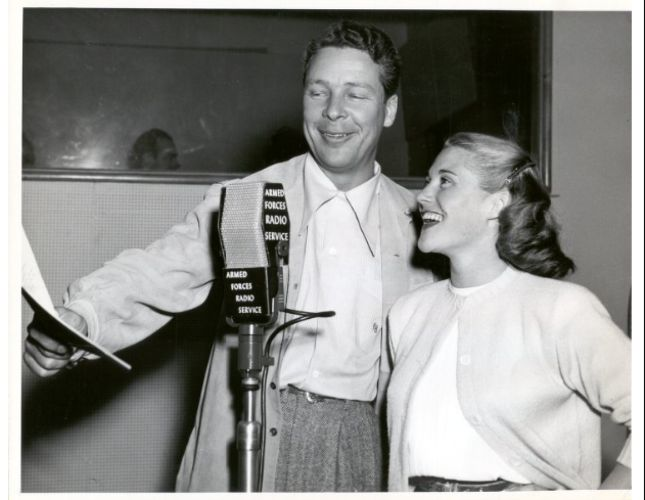 Kenny Baker and Trudy Erwin