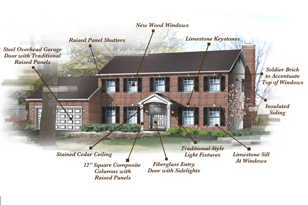 23 Best Design Inspiration Brick Colonial Exterior Images On Pinterest Colonial Exterior