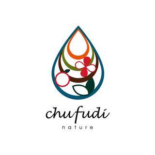 沖縄の手作り自然石鹸&スパのお店「チュフディ ナチュール」のロゴマーク。 「自然」がキーワード��