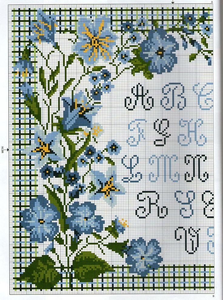 fiori blu 1