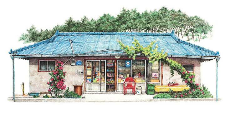 The small shops of South Korea, an ongoing series by Lee Mee Kyeoung.