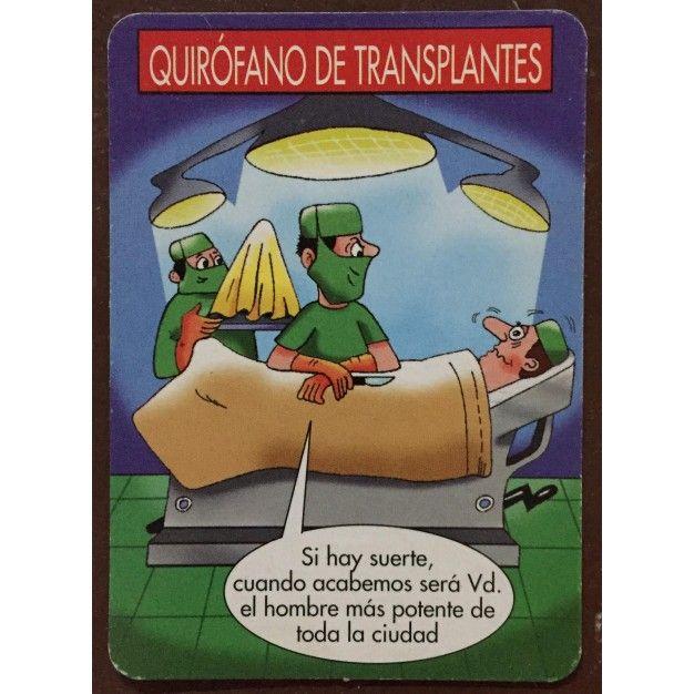 CALENDARIO HUMOR QUIRÓFANO DE TRASPLANTES