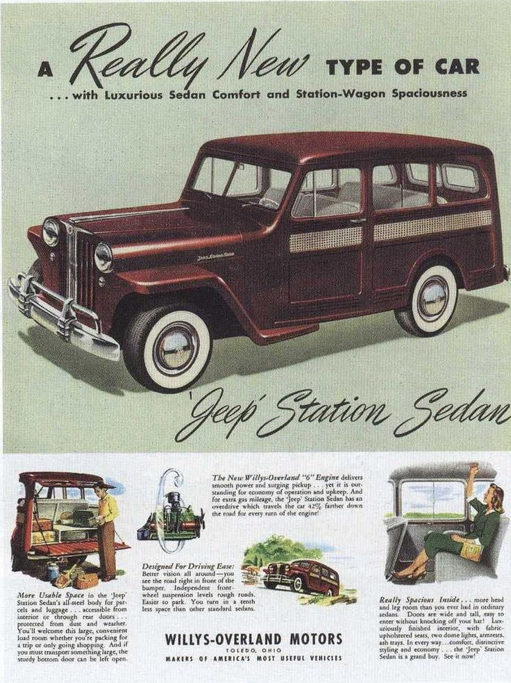 https://flic.kr/p/9xqTW9   Ad for Jeep 1948