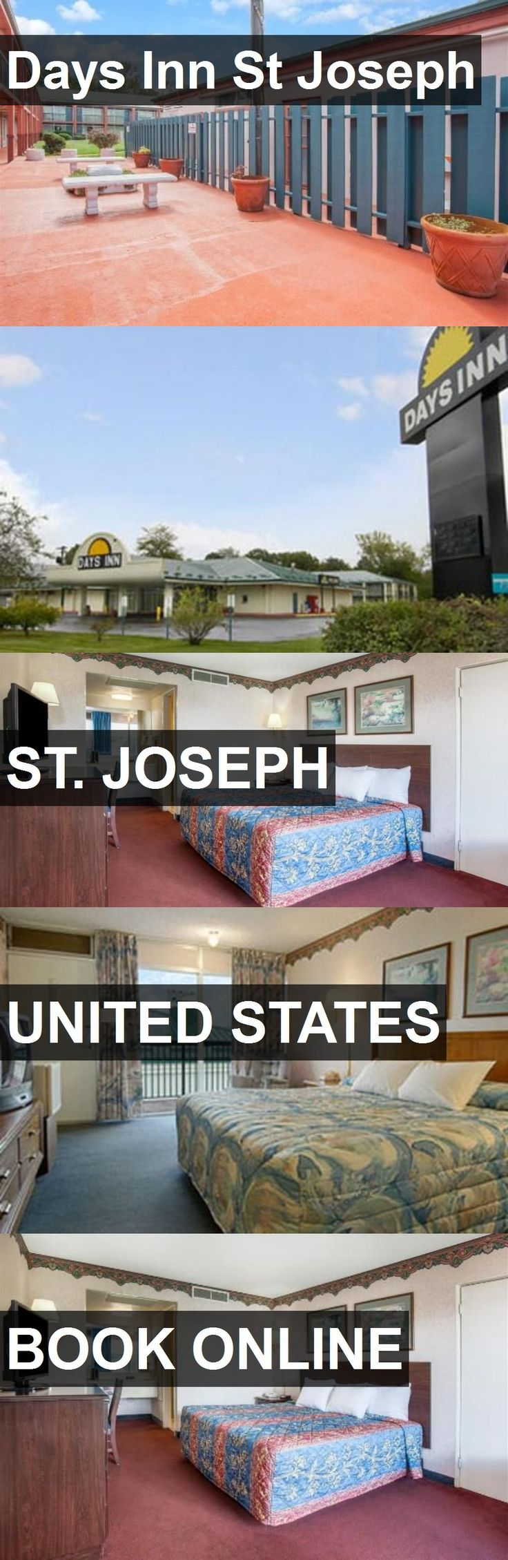 Hotel Days Inn St Joseph in St. Joseph, United States. For more information, photos, reviews and best prices please follow the link. #UnitedStates #St.Joseph #travel #vacation #hotel