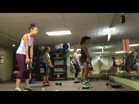 Rosalie Brown's Simply Fit Board 40 Minute Class - YouTube
