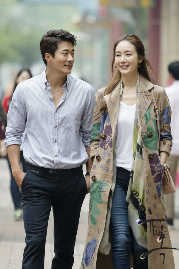 Choi Ji Woo with Kwon Sang Woo - BTS of Temptation!