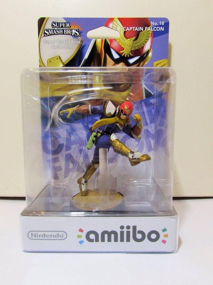 Nintendo Amiibo Super Smash Bros No 18 Captain Falcon Brand New