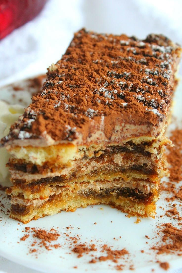 Cafe Style Chocolate Tiramisu Cake | Replicate this cafe classic in your very own kitchen!