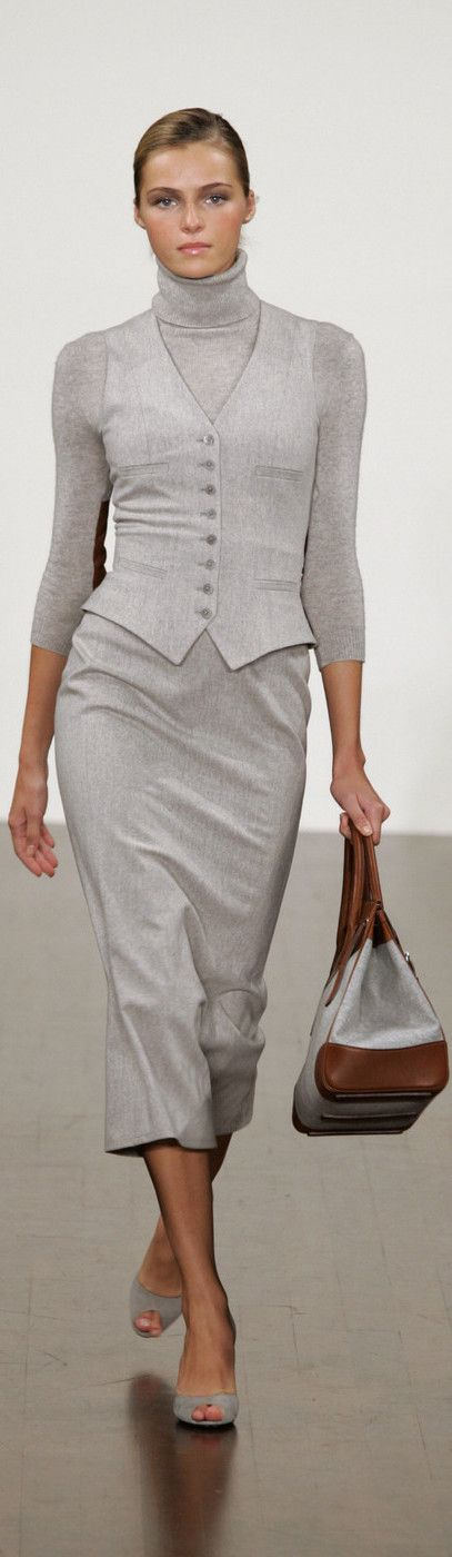 Ralph Lauren 2005 women fashion outfit clothing style apparel @roressclothes closet ideas