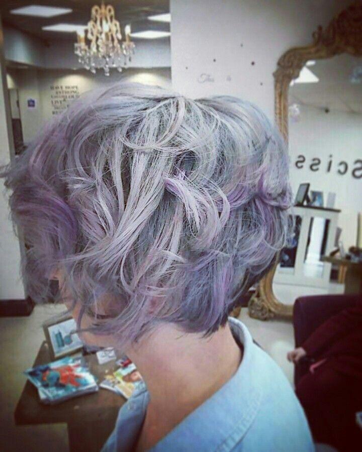 #lialichair #greyhair #purplehair #silverhair