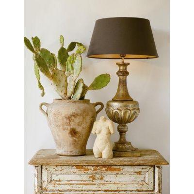 Bordslampa Wood 59 - Guld