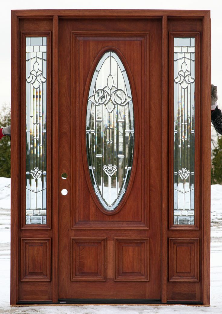 Entry front sidelight with dutch doors bing images for Front door and sidelights