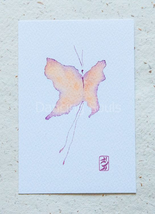 Butterfly Rebirth dancersoul wings watercolour by DancingSoulshop
