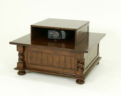 7470 COFFEE TABLE WITH PROJECTOR POP-UP