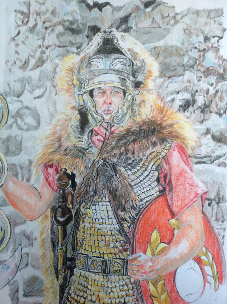 A Signifer- Ermine Street Guard