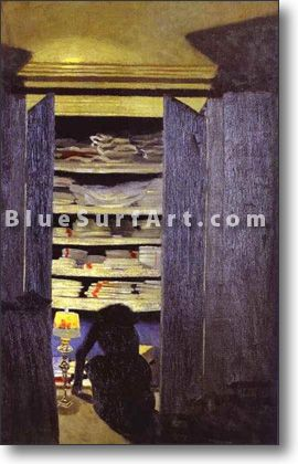 Woman Rummaging Through Closet - £124.99 : Canvas Art, Oil Painting Reproduction, Art Commission, Pop Art, Canvas Painting