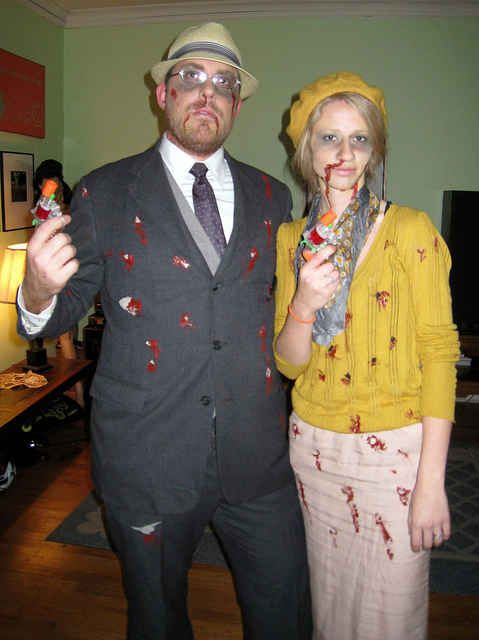 (Dead) Bonnie & Clyde | 22 Halloween Costumes Inspired By The 1960s
