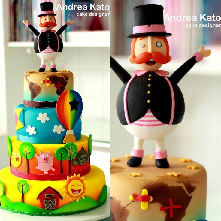 "250 Likes, 54 Comments - Andrea Kato Cake Designer (@askato) on Instagram: ""Mundo Bita"""