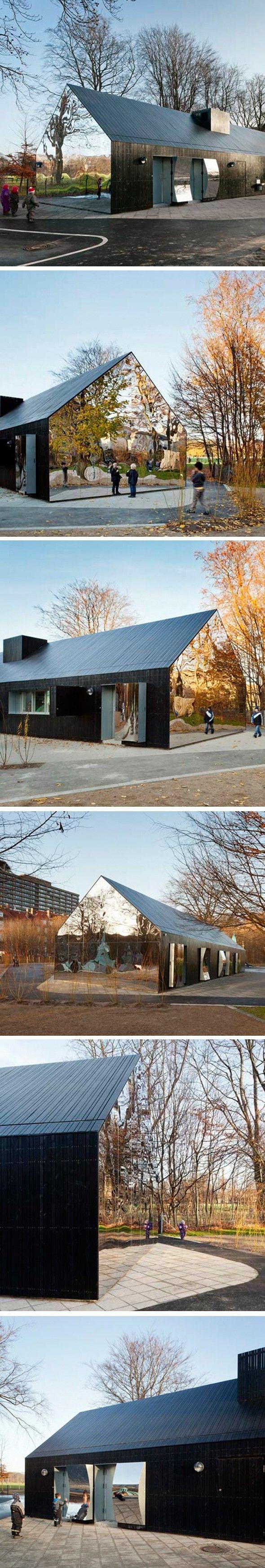 Mirror House par MLRP, Copenhague