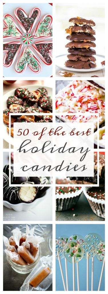 50 of the Best Holiday Candies - A Dash of Sanity - http://www.adashofsanity.com/2016/11/50-best-holiday-candies/