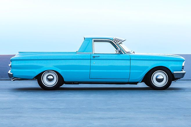 Twin Turbo Windsor Powered 1965 Ford Xp Falcon Ute Twin Turbo Ford Ute