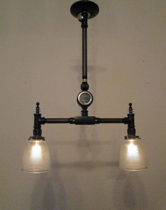 diy pipe lighting. steampunk lamp vintage industrial light chandelier machine age edison bulb antique steam punk diy pipe lighting