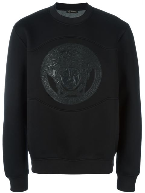 VERSACE Medusa Logo Sweatshirt. #versace #cloth #sweatshirt