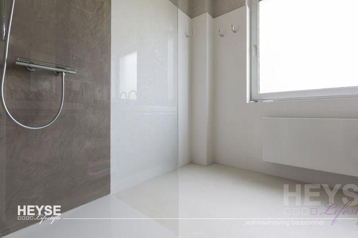Leben in der Komfortzone - fugenloses Bad mit Walk-In-Dusche macht Kunden glücklich