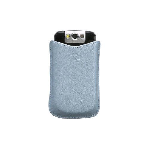 OEM Synthetic Blackberry 8220 Pocket Case - Frost Blue